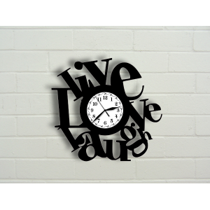 "Ceas ""Live, Love, Laugh"""