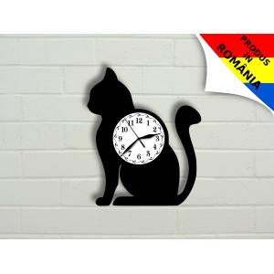 Ceas cu pisica - model 1