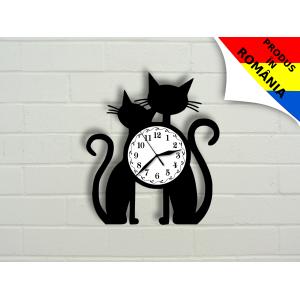 Ceas cu pisici - model 2