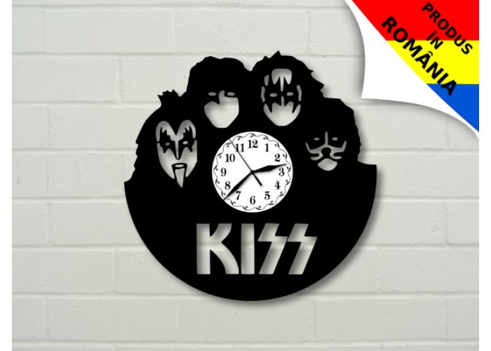 Ceas cu formatia Kiss - model 1