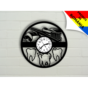 Ceas pentru dentisti - stomatologi - model 2