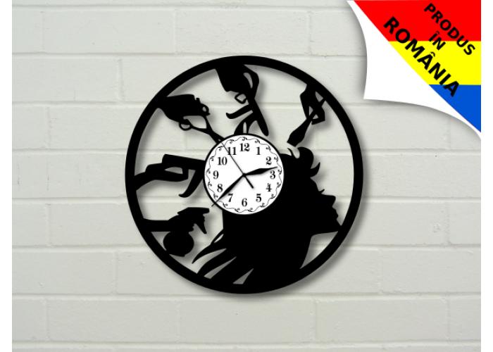 Ceas pentru salon de coafura - model 3