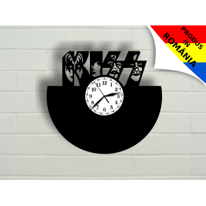 Ceas cu formatia Kiss - model 2