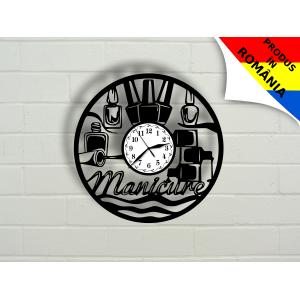 Ceas pentru salon de manichiura - unghii - model 1