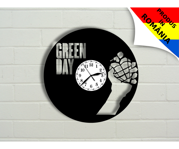 Ceas Green Day - model 1