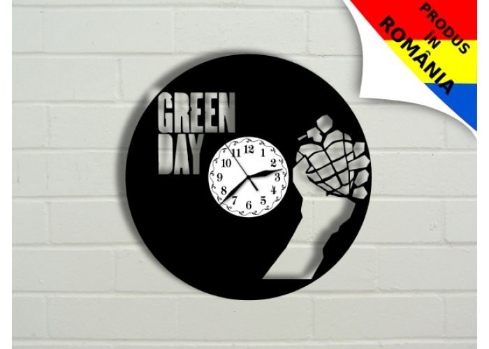 Ceas Green Day - model 1