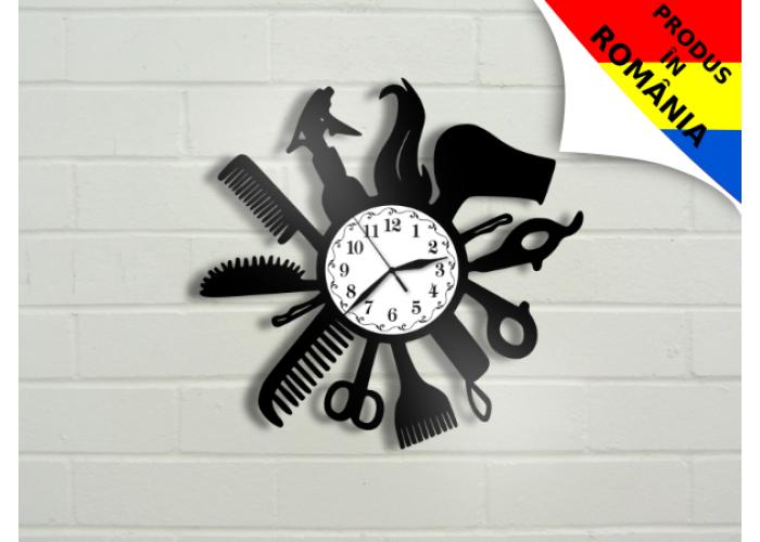 Ceas pentru salon de coafura - model 2