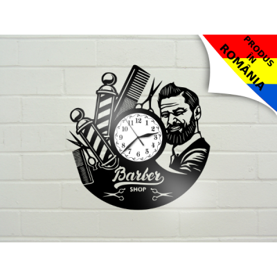 Ceas Barber Shop - model 3