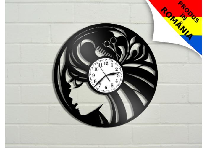 Ceas pentru salon de coafura - model 1