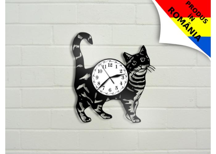 Ceas cu pisica - model 2