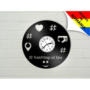 Ceas hashtag