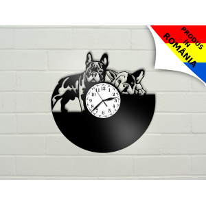 Ceas cu caine - Bulldog francez