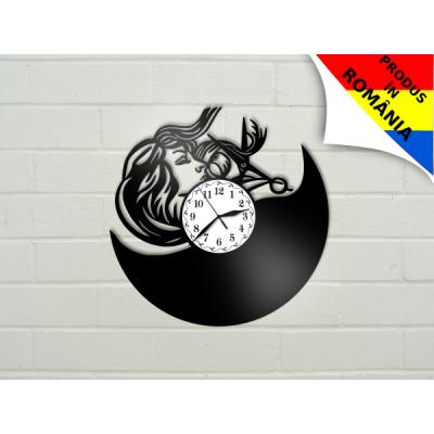 Ceas pentru salon de coafura - model 5