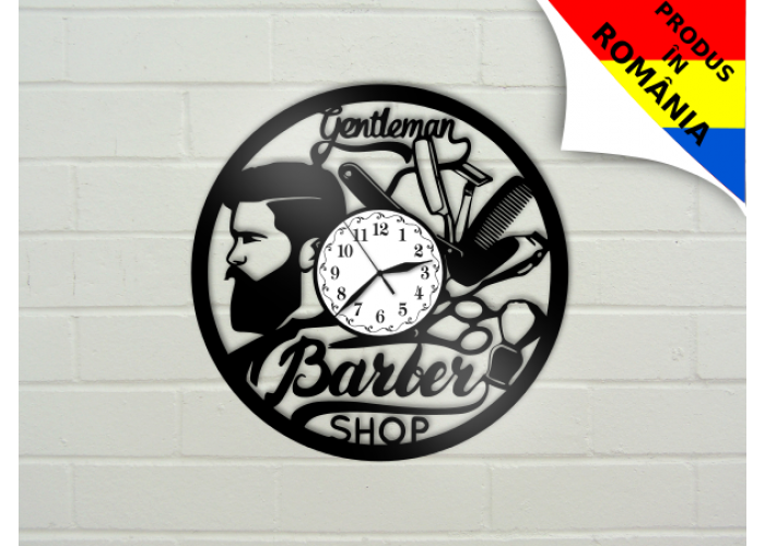Ceas Barber Shop - model 4