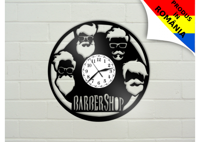Ceas Barber Shop - model 5