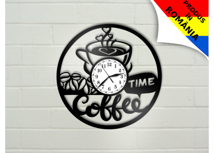 "Ceas ""Coffee time"""
