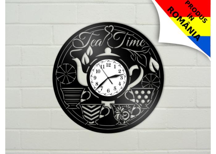 """Ceas pentru iubitorii de ceai - """"Tea time"""""""