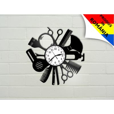 Ceas pentru salon de coafura - model 4