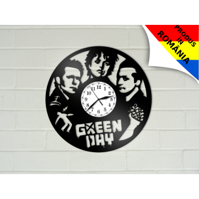 Ceas Green Day - model 2