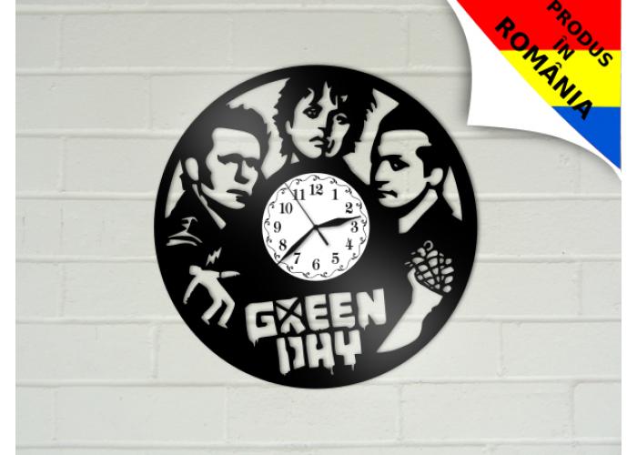 Ceas Green Day - model 2