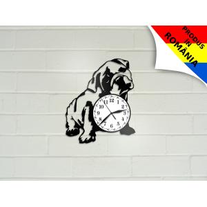 Ceas cu caine Bulldog