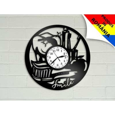Ceas pentru dentisti - stomatologi - model 3