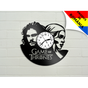 Ceas Game of Thrones - Urzeala tronurilor - Daeneris si Jon Snow