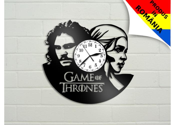 Ceas Game of Thrones - Urzeala tronurilor - Daeneris si Jon Snow