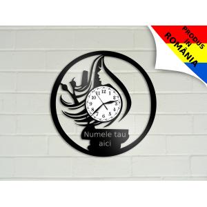 Ceas pentru salon de coafura - model 7