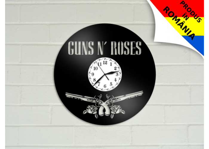 Ceas Guns'n'Roses