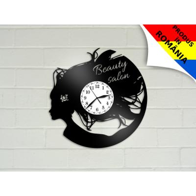 Ceas pentru salon de coafura - model 8