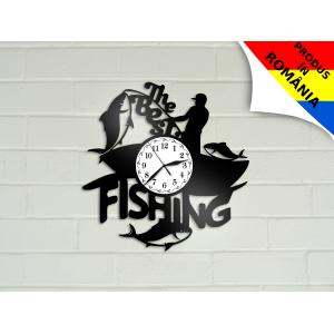 Ceas pentru pescari - peste - model 2
