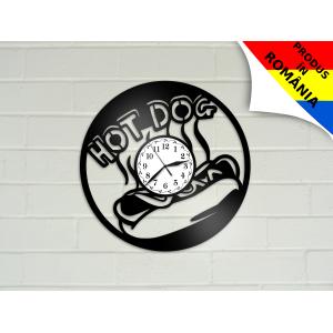 Ceas cu mancare - hotdog