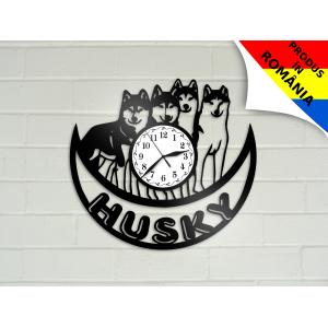 Ceas cu caine Husky - model 3