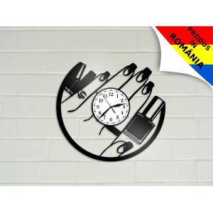 Ceas pentru salon de manichiura - unghii - model 4