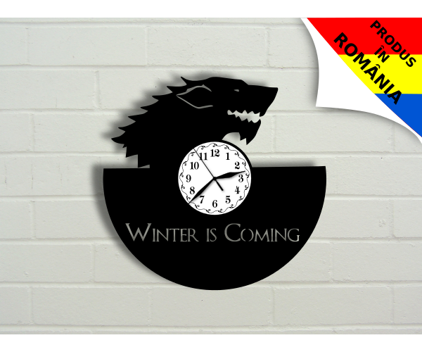 """Ceas """"Winter is coming"""" 1 - Game of Thrones"""