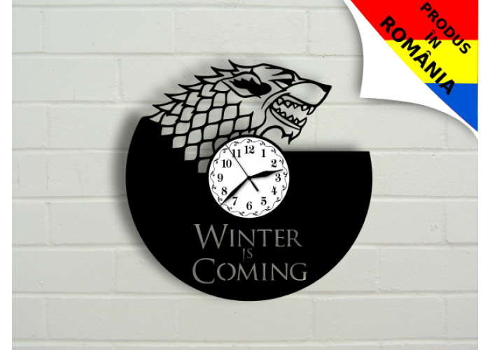 """Ceas """"Winter is coming"""" 2  - Game of Thrones"""